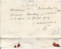 Bouchain, Nord Du Bouchain, Manuscrit 26 Janvier 1707 - 1701-1800: Précurseurs XVIII