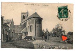 05751-LE-59-ABANCOURT-L' Eglise--------animée - Autres Communes