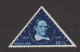 NVPH Nederland Netherlands Pays Bas Holanda 288 MLH Ong 300 Jaar Years Universiteit University Universidad Utrecht 1936 - Nuovi