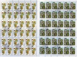 Wasser-Rose 1984 Sowjetunion 5278,5383+Bogen 22€ Galanthus Bloque Blocs Hojita Hb Flower M/s Nature Sheetlets Bf SU USSR - Agriculture