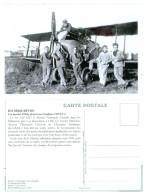 94 ORLY LES MARINS D´orly Devant Un  Avion Caudron - Orly