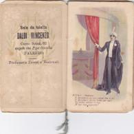 """PALERMO 1926 - Calendario Pubblicitario """" LA BAIADERA """" /  Sala Da Toleita   BALDI VINCENZO - Formato Piccolo : 1901-20"""
