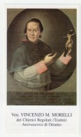 HOLY CARD - SANTINO  - Ven. VINCENZO M. MORELLI - B.N. MARCONI 2370001 - Devotieprenten