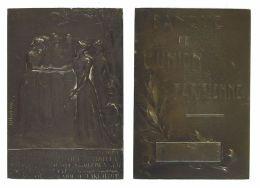 AG00236 BANQUE DE L'UNION PARISIENNE - 1904 (Ag24g) Allégories Au Revers - Professionnels / De Société