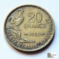 France - 20 Francs - 1950 - L. 20 Francs