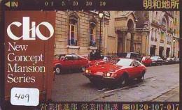 Télécarte JAPON * OLDTIMER * RENAULT CLIO (409) Phonecard JAPAN * VOITURE * Auto * CAR * TELEFONKARTE * - Cars