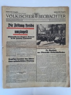 Magazine / Newspapers NO000017 - Völkischer Beobachter Deutschland (Germany) Reich 1938-04-01 - Magazines & Newspapers