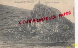 87 - REMPNAT - LE ROCHER DU SAUVAGE   PHOTO P. LAQUAIS -- RARE - Francia