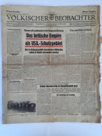 Magazine / Newspapers NO000019 - Völkischer Beobachter Deutschland (Germany) Reich 1943-03-09 - Riviste & Giornali