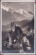 SWITZERLAND  , FELSENBURG  KANDERSTEG  ,  OLD  POSTCARD - BE Berne