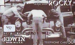 Télécarte JAPON * OLDTIMER *  (451) Phonecard JAPAN * VOITURE * Auto * CAR * TELEFONKARTE * - Auto's