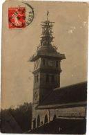 CPA Carte Photo ÉTAIN - Travaux Du Tour De L'Église (116388) - France