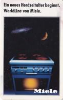 TARJETA DE ALEMANIA DE UNA GALAXIA Y UN PLANETA (GALAXY) MIELE - Astronomy