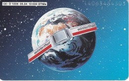 TARJETA DE ALEMANIA DE LA TIERRA (GLOBO TERRAQUEO) WINTERTHUR - Astronomy