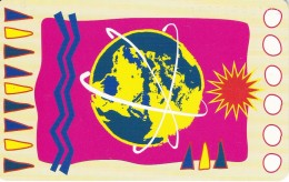TARJETA DE ALEMANIA DE LA TIERRA (GLOBO TERRAQUEO) PANALPINA - Astronomy