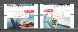 2002 DENMARK AUTOMAT STAMPS MNH ** - ATM/Frama Labels