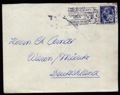 A3902) Niederlande Brief Von Amsterdam 1936 Mit Kinderhilfsmarke - 1891-1948 (Wilhelmine)