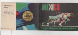 MEXICO - RECORDS ET CHRONOMETRAGE OLYMPIQUES - OMEGA - Publicités