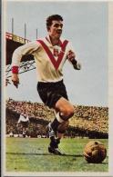 CPSM Miroir Sprint Football 9 X 14,5 Dos Image Explicative Footballeur DOUIS - Fútbol