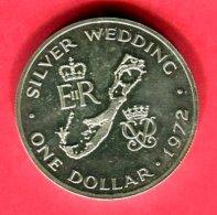 1 DOLLAR 1972 ( KM 8)  TTB+ 32 - Bermudes