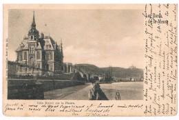 CPA Dos Non Divisé : NAMUR - Les Bords De Meuse - Villa Magery Ou Majery à La Plante - Namur