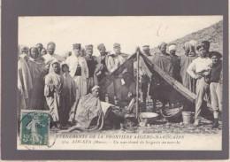 Maroc - Ain Sfa - Evenements Militaire Frontiere Algero Marocaine - Un Marchand De Beignets Au Marché - Other