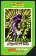 FOOTBALL - ITALIA - I GRANDI ACQUISTI 1998/99 - JORG HEINRICH - FIORENTINA - Pubbliche Figurate Ordinarie