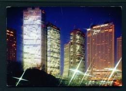 JAPAN  -  Tokyo  Shinjuku  Used Postcard As Scans - Tokio
