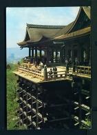 JAPAN  -  Kyoto  Kiyomizu Temple  Used Postcard As Scans - Kyoto
