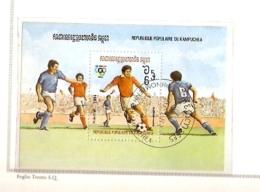 LOS ANGELES 1984 OLIMPIC GAMES KAMPUCHEA - Calcio