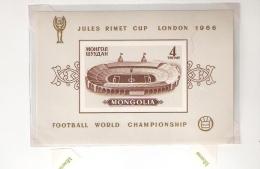 ENGLAND 66 RIMET WORLD CUP MONGOLIA - World Cup