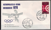 ALLEMAGNE  FDC   Cachet  Oberhausen   Le  5 - 6 - 1970   JO 1972  Tir A L Arc   Satellite  Logo - Tiro Con L'Arco