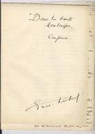 Dans La Haute Montagne. Conférence De G. Robert, Avocat Bruxelles Janvier 1908, Manuscrit - Manuscritos