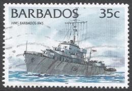 Barbados. 1994 Ships. 35c Used. 1996 Imprint. SG 1079 - Barbados (1966-...)