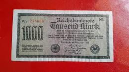 BANKNOTE:    Germany 1000 Mark 1922 - 1000 Mark