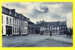 * Quievrain - Quiévrain (Hainaut - Wallonie) * (SBP, Nr 2) Près  Dour, Place De La Station, Hotel Du France, Café Louis - Quiévrain