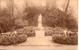 95. Enghien. Monument Aux Heros Tombés Au Champ D'honneur. Le Defenseur - Enghien Les Bains