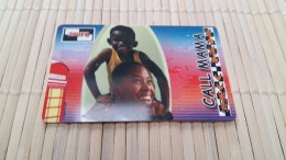 Prepaidcard Call Mama  Belgium Used  Rare 2 - Belgium