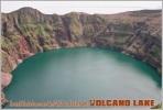 Kasatochi Island Volcano Crater Lake,USA, Alaska, Aleutian Islands. Volcano Lake Postage Card 3268-16 - Postkaarten