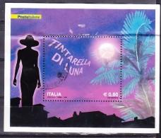 2009  FOGLIETTO TINTARELLA LUNA  0,60 €  USATO - 6. 1946-.. Repubblica