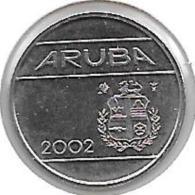 *Aruba 5 Cents  2002  Km 1   Bu - [ 4] Colonies