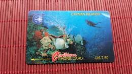 Phonecard  Cayman Islands 3CCIA Used Rare - Cayman Islands