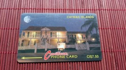 Phonecard  Cayman Islands 6CCIC Used Rare - Cayman Islands