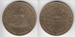 **** 95 - EGLISE D´AUVERS-SUR-OISE - VAN GOGH 2003 B - MONNAIE DE PARIS **** EN ACHAT IMMEDIAT !!! - Monnaie De Paris