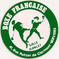 AUTOCOLLANTS  BOXE FRANCAISE - Stickers