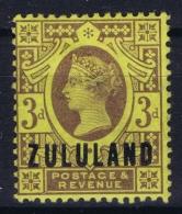 Zululand: 1888 SG 5  MH/* Falz/ Charniere - Zululand (1888-1902)