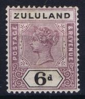 Zululand: 1894 SG 24  MH/* Falz/ Charniere - Zululand (1888-1902)