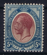 South Africa :  SG 15 Mi 14  1913 MH/* Falz/ Charniere - Nuovi