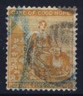 Cape Of Good Hope: 1864 SG 54  Mi 37 Used - Südafrika (...-1961)