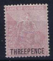 Cape Of Good Hope: 1880 SG 35  Mi 14 Not Used (*) SG - Südafrika (...-1961)